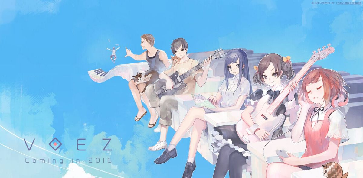 [Video Game Review] [Music Games] VOEZ – Rayark's beautiful FREE Anime music game on iOS & Android